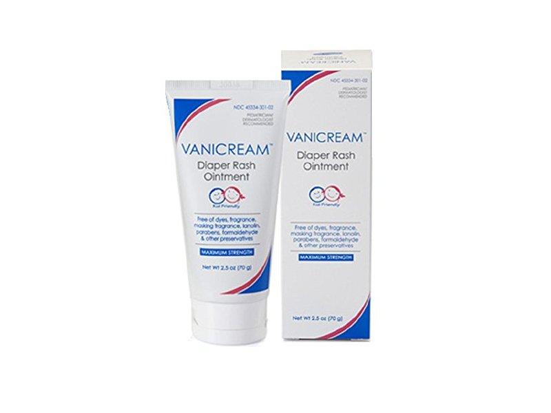 Vanicream Diaper Rash Ointment - 2.5 oz