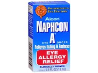 Alcon Naphcon-A Allergy Relief Eye Drops, 0.5-Ounce Bottles (Pack of 2) - Image 2