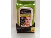 Absolute New York Make-up Cleansing Tissues, Fresh Aloe Extract with Vitamin E, 60 Ct - Image 2