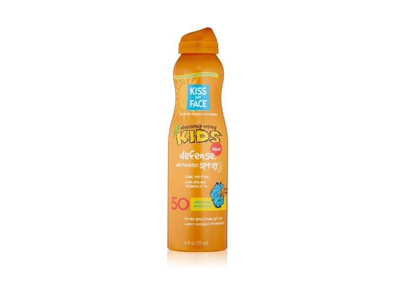 Kiss My Face Kids Defense Continuous Spray SPF 50, 6 Ounce