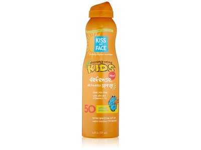Kiss My Face Kids Defense Continuous Spray SPF 50, 6 Ounce - Image 1