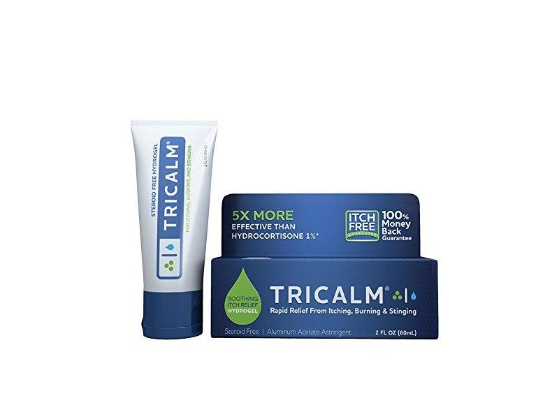 TriCalm Soothing Itch Relief Hydrogel, 2 fl oz
