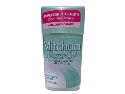 Mitchum Advanced Control 48-hour Protection Anti-Perspirant & Deodorant Gel, Shower Fresh, 2.25 oz