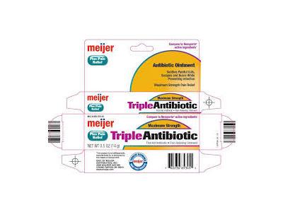 Meijer Triple Antibiotic Original Strength, 1 oz