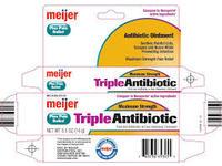 Meijer Triple Antibiotic Original Strength, 1 oz - Image 2
