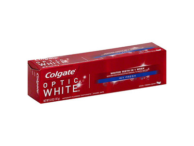 Colgate Optic White Toothpaste, Icy Fresh, 3.5 Ounce