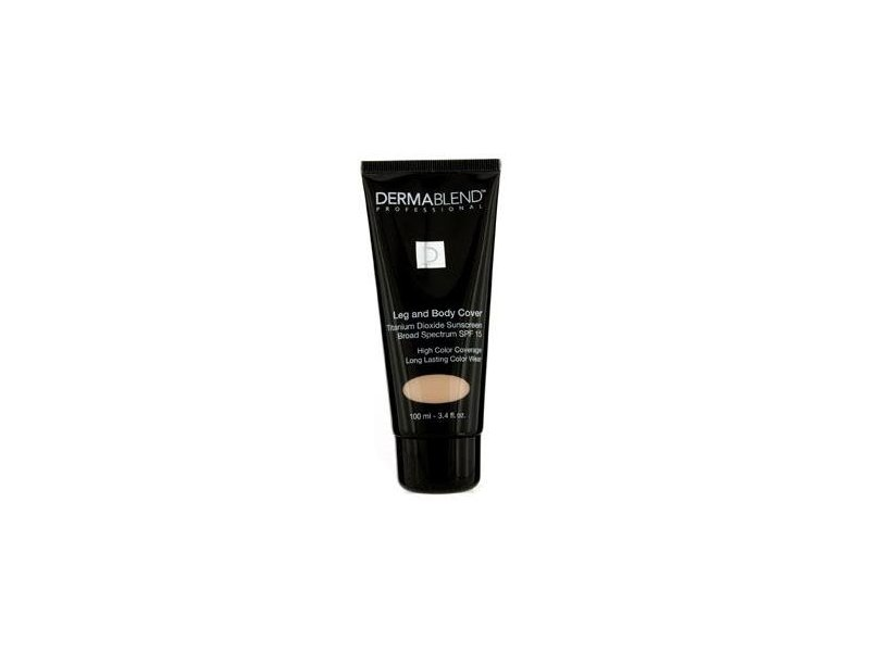 Dermablend Leg And Body Cover, SPF 15, Natural