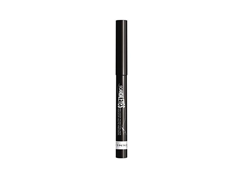 Rimmel Scandaleyes Micro Eye Liner, Black, 0.04 Fluid Ounce