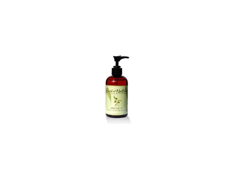 Best of Nature Olive Body Oil, 8 fl oz