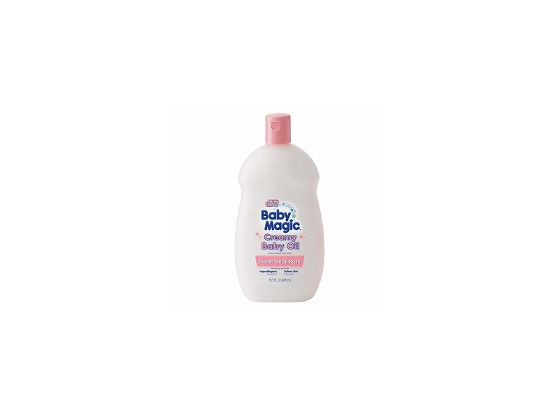 Baby Magic Creamy Baby Oil - Sweet Baby Rose, Naterra International, Inc.