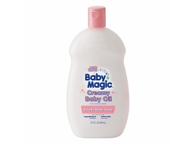 Baby Magic Creamy Baby Oil - Sweet Baby Rose, Naterra International, Inc. - Image 1