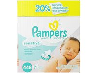 Pampers Sensitive Wipes 7x Box 448 Count - Image 2