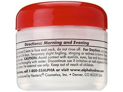 Alpha Hydrox AHA Enhanced Creme, Anti-Wrinkle Exfoliant - 2 oz - Image 6
