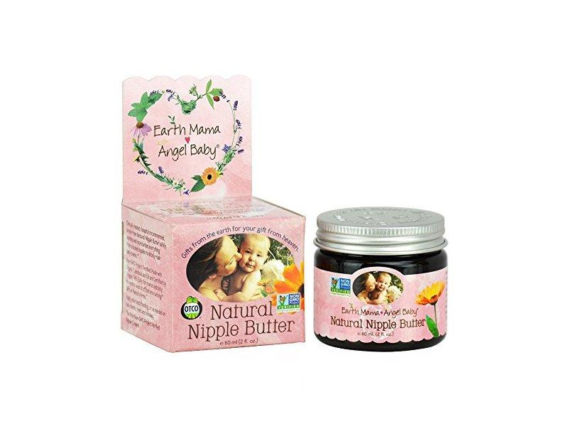 Earth Mama Angel Baby Natural Nipple Butter,, 2 oz