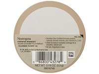 Neutrogena Mineral Sheers Loose Powder, Classic Ivory, 0.19 Ounce - Image 4