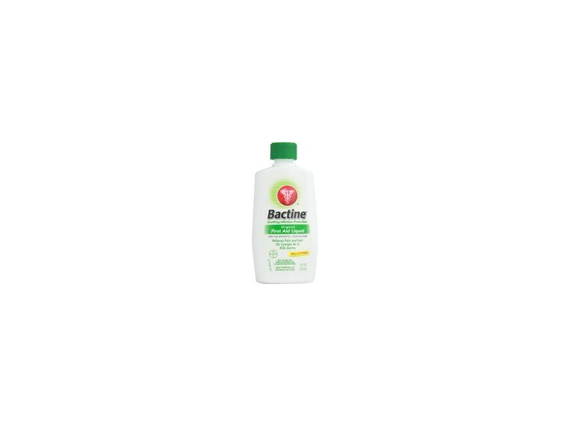 Bactine Original First Aid Liquid, 4 fl oz