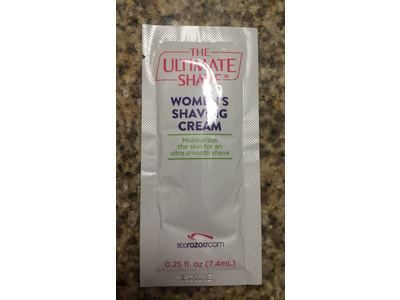 The Ultimate Shave Women's Shaving Cream, 0.25 f oz