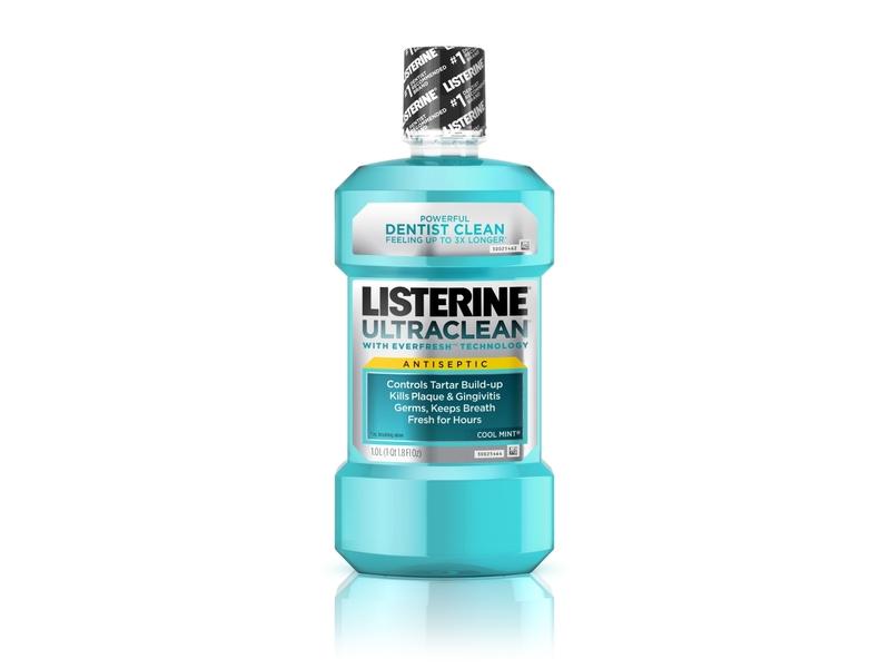 Listerine UltraClean Mouthwash Arctic Mint