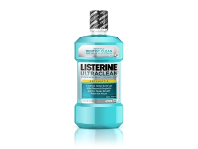 Listerine UltraClean Mouthwash Arctic Mint - Image 1