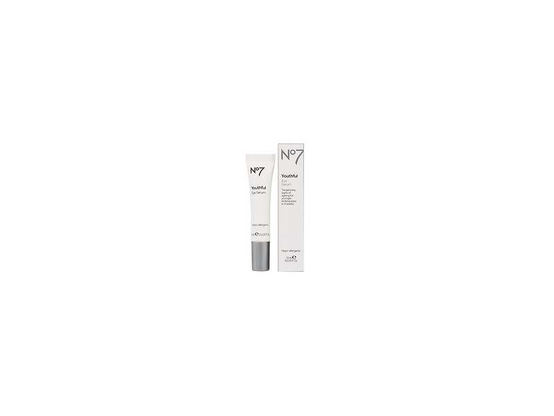 Boots No7 Youthful Eye Serum -  5 fl oz Ingredients and Reviews