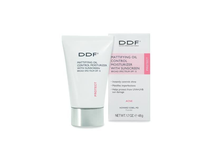 DDF Mattifying Oil Control Moisturizer with Sunscreen Broad Spectrum SPF 15