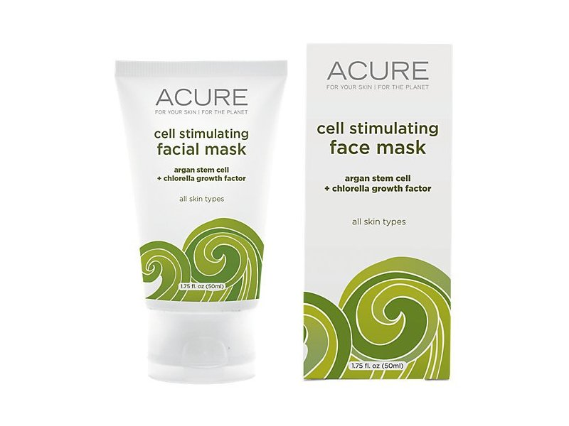 Acure Organics Argan Stem Cell Cgf Facial Mask Cell