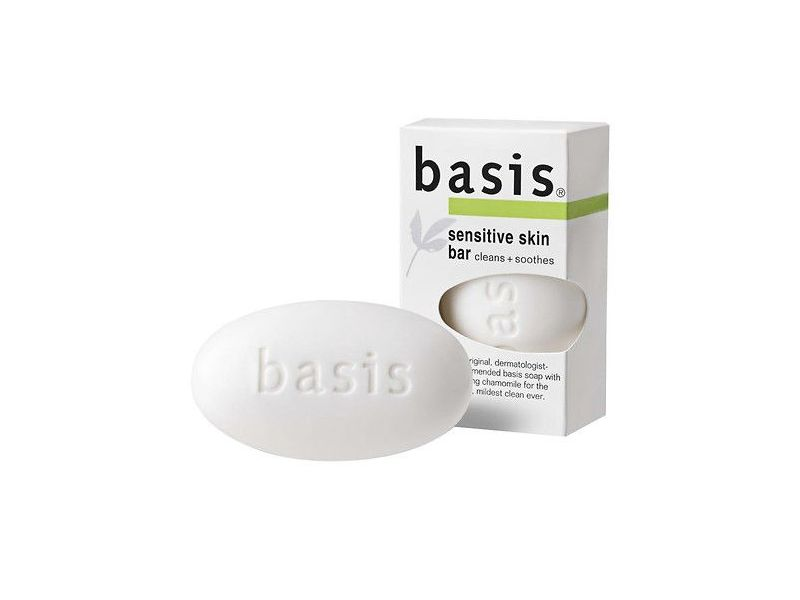Basis Sensitive Skin Bar Soap, 4.0 oz