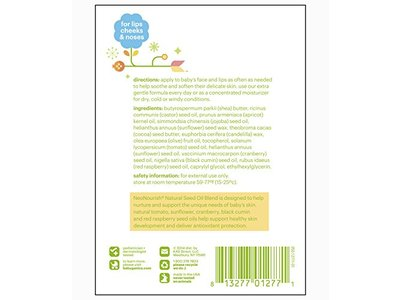Babyganics Lip and Face Balm, Fragrance Free, 0.25oz Stick (Pack of 4) - Image 7