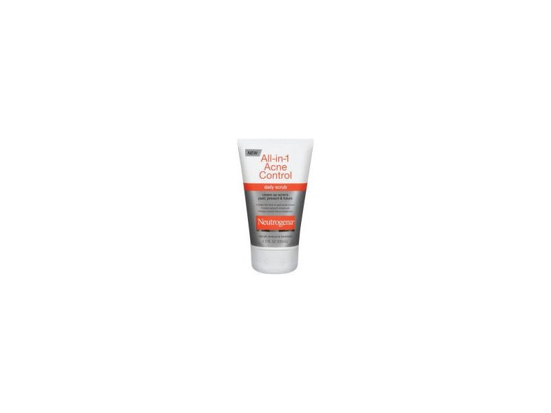 Neutrogena All-in-1 Acne Control Daily Scrub, Johnson & Johnson