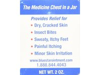 Blue Star Medicated Anti-Itch Ointment 2 oz - Image 7