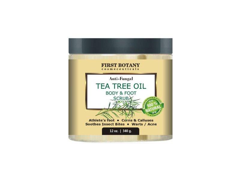First Botany Anti-Fungal Tea Tree Oil Body & Foot Scrub