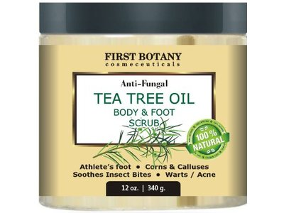 First Botany Anti-Fungal Tea Tree Oil Body & Foot Scrub