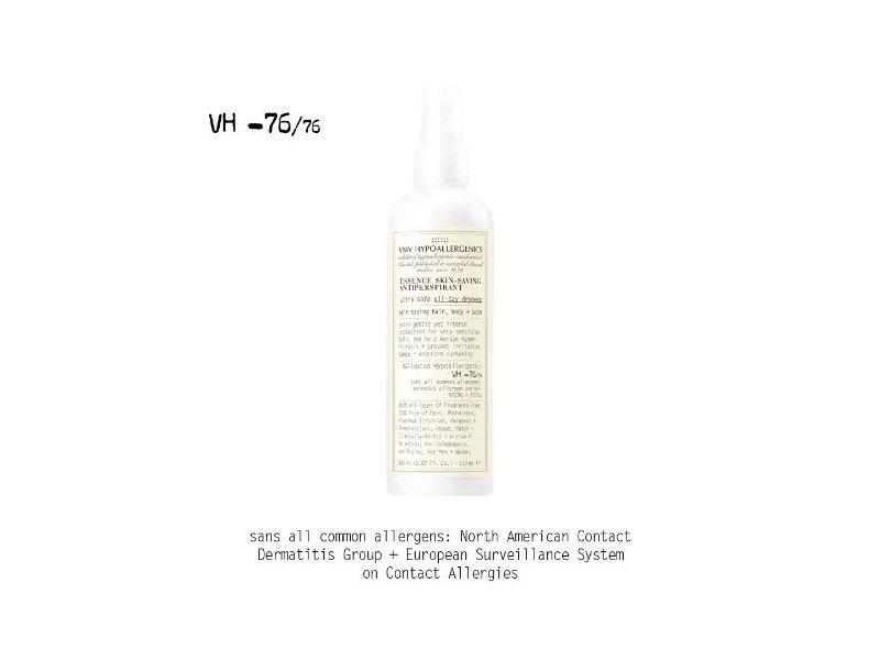 VMV Hypoallergenics Essence Skin-Saving Anti-Persperspirant, 5.07 fl oz.