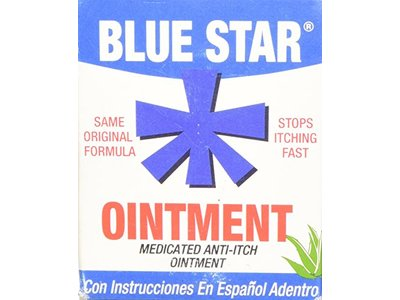 Blue Star Medicated Anti-Itch Ointment 2 oz