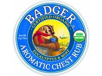 Badger Balm Aromatic Chest Rub, Eucalyptus + Mint, .75 oz - Image 2