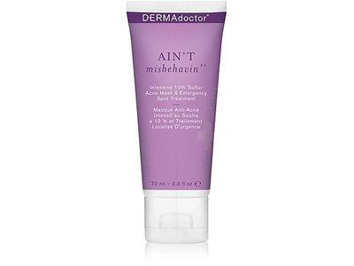 Dermadoctor Ain't Misbehavin' Intensive 10% Sulfur Acne Mask & Emergency Spot Treatment, 2.3 oz - Image 1