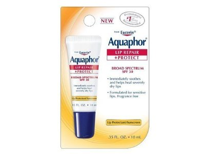 Aquaphor Lip Repair + Protect, Broad Spectrum SPF 30, .35 fl oz