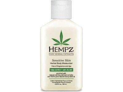 Hempz Sensitive Skin Herbal Body Moisturizer, 2.25 fl oz