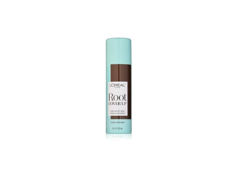 L'Oreal Paris Root Cover Up Temporary Gray Concealer Spray, Dark Brown, 2 oz