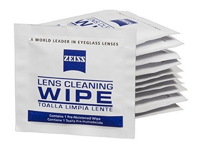 Zeiss Pre-Moistened Lens Cleaning Wipes, 600 Count