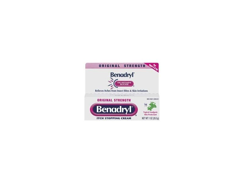 Benadryl Itch Stopping Cream, Original Strength, 1 oz