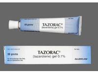 Tazorac Topical Gel 0.1% (RX) 30 Grams, Allergan - Image 2
