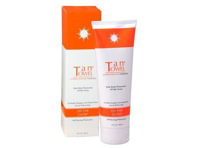 TanTowel On The Glow Tan Extender Cream for Body, 8 oz