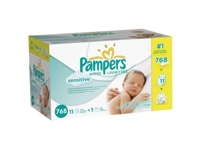 Pampers Sensitive Wipes, Procter & Gamble