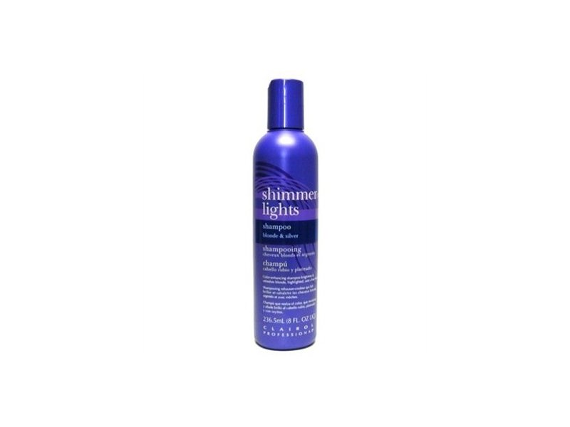 Clairol Shimmer Lights Shampoo, Blonde U0026 Silver, 8 Oz. Loading Zoom