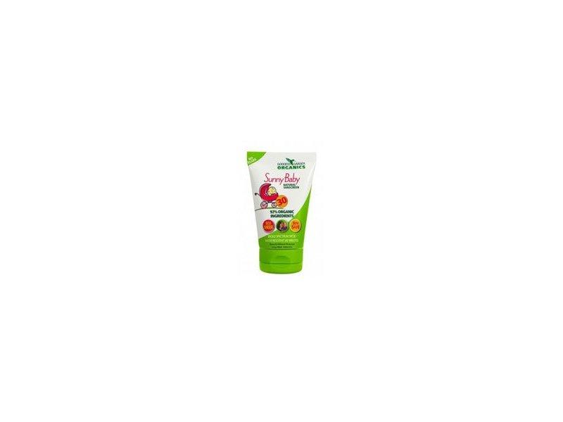 Goddess Garden Baby Natural Sunscreen SPF 30, 3.4 OZ (Pack of 2)