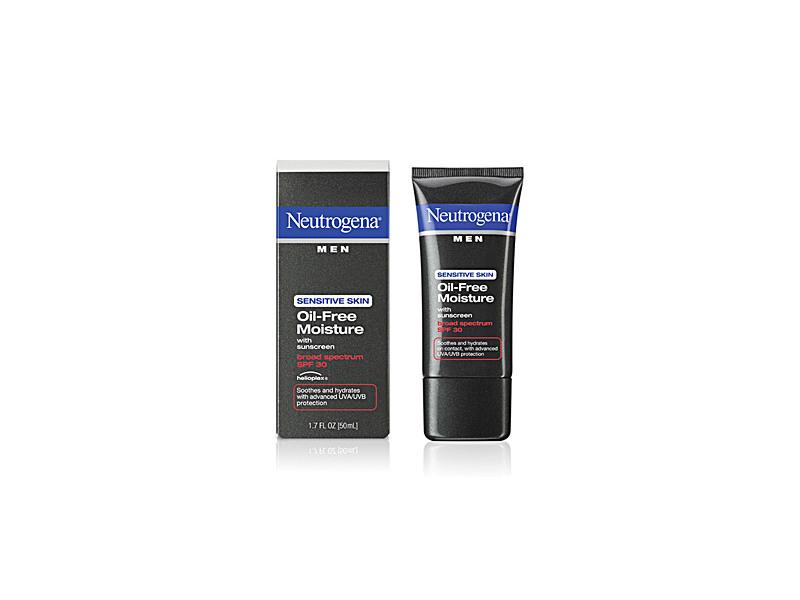 Neutrogena Men Sensitive Skin Oil-free Moisture With Sunscreen Broad Spectrum SPF 30, Johnson & Johnson