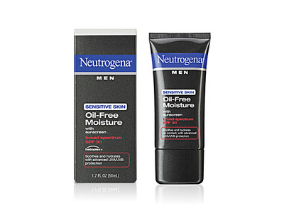 Neutrogena Men Sensitive Skin Oil-free Moisture With Sunscreen Broad Spectrum SPF 30, Johnson & Johnson - Image 1