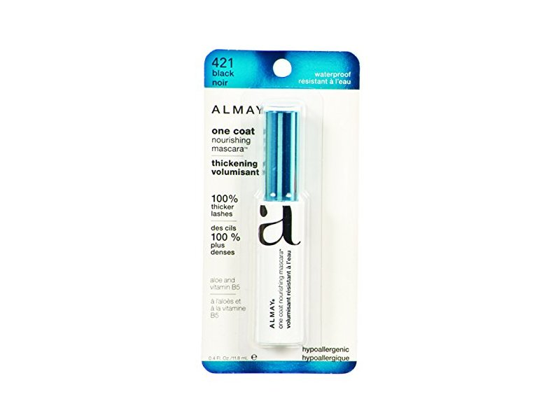 Almay One Coat Thickening Waterproof Mascara, 421 Black, 0.4 fl oz (Case of 20)