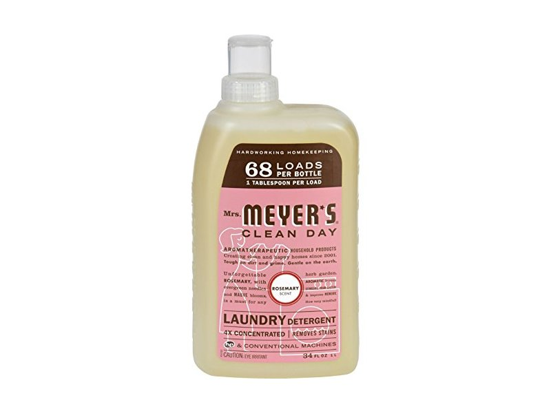 Mrs Meyer S Clean Day Laundry Detergent 4x Concentrated